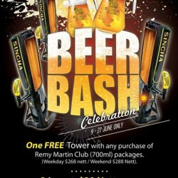 [Manekineko Karaoke Singapore] Attention Beer lovers, we have launched a Beer Bash celebration to save your pocket!