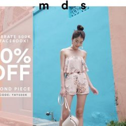 [MDSCollections] For the month of June, get 50% off second piece on regular-priced items.