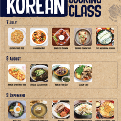 [CHICKEN UP] FREE KOREAN COOKING CLASS!