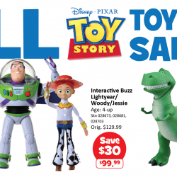 [Babies'R'Us] All Toy Story toys and merchandise on offer from the 16 (Fri) to the 19 (Mon) June 17!