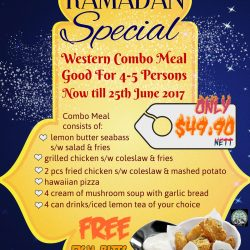 [LA PASTIFICIO] Come down to celebrate your Ramadan break-fast with attractive and value for money western combo setmeal - good for 4-