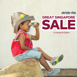 [Stride Rite/Petit Bateau] Stride Rite GREAT SINGAPORE SALE is NOW ON!