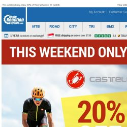[Chain Reaction Cycles] 20% off Castelli!