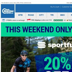 [Chain Reaction Cycles] 20% off Sportful!
