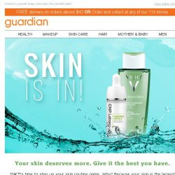 Health singapore promos sales discount coupon code may2018bq guardian its all about the skin keep it fresh and young forever with the top brands fandeluxe Gallery