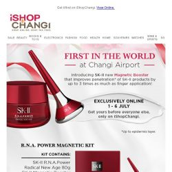 [iShopChangi] Meet the NEW SK-II Magnetic Booster!