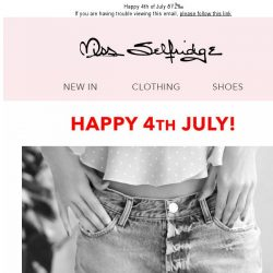 [Miss Selfridge] 40% off Denim at 4pm - 1hr ONLY! 🇺🇸