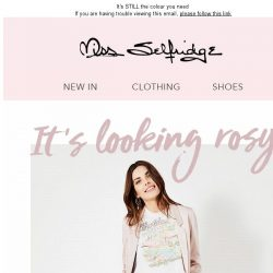 [Miss Selfridge] Made you blush