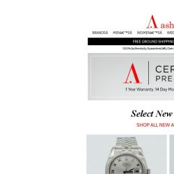 [Ashford] Exciting New Selection of Certified Pre-Owned Watches!