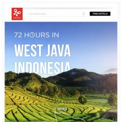 [Kaligo] , earn up to 6,000 Miles in just 72 hours, while exploring West Java!
