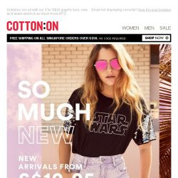 [Cotton On] So much NEW right now >
