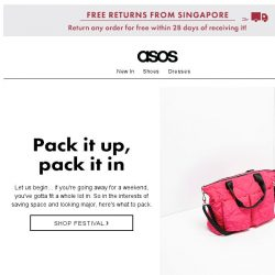 [ASOS] Ready for the weekend (away)