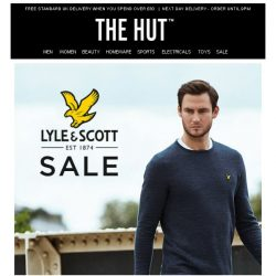 [The Hut] Extra 20% off Lyle & Scott SALE and more...