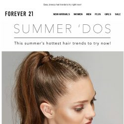 [FOREVER 21] YOUR HAIR 😍 😍