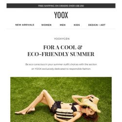[Yoox] YOOXYGEN: cool & eco-friendly summer outfits