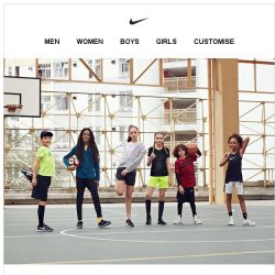 [Nike] New Styles for Young Athletes