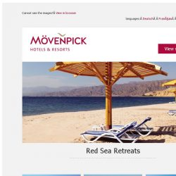 [Mövenpick Hotels & Resorts] ☀ Relax by the Red Sea ☀