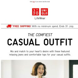 [UNIQLO Singapore] The Comfiest Outfit