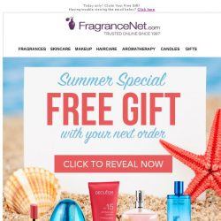[FragranceNet] Today Only! Something free.