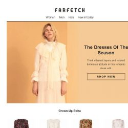 [Farfetch] Dresses | The new boho style you'll love