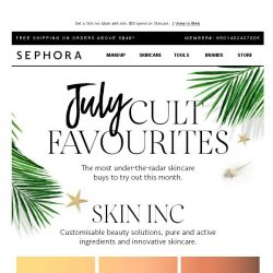 [Sephora] Cult-ivate these skincare faves❤