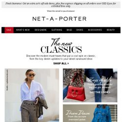 [NET-A-PORTER] When you have nothing to wear…