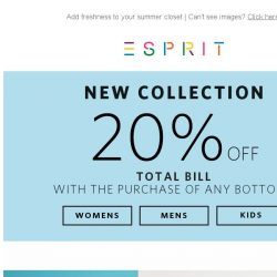 [Esprit] Shop new for a Blue Vacation! ☼
