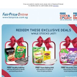 [Fairprice] Exclusive Deals and Promotions!