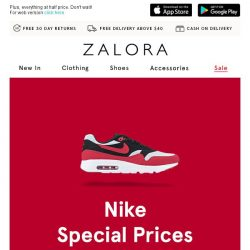 [Zalora] Nike Clearance Sale: Achieve your fitness goals with trendy sportswear