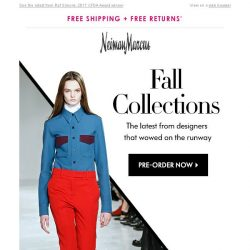 [Neiman Marcus] New Calvin Klein & more fall collections