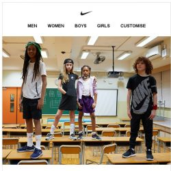 [Nike] Kids' Styles to Get Out and Play