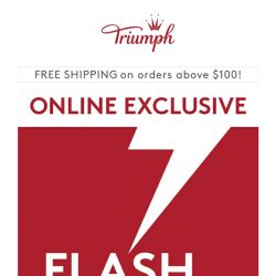 [Triumph] ⚡️ Mid Week Flash Sale! $20 Bras