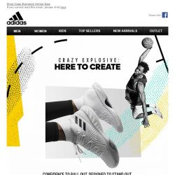 [Adidas] Crazy Explosive: Here to Create