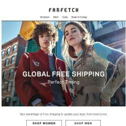 [Farfetch] The outfit breakdown | Free Shipping