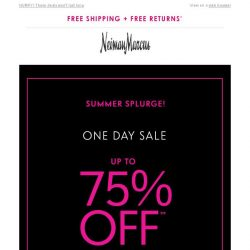 [Neiman Marcus] Clearance cuts! Up to 75% OFF