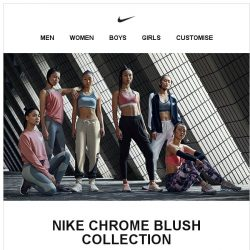 [Nike] Strength Meets Style: Nike Chrome Blush Collection