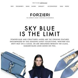 [Forzieri] Sky Blue is the Limit