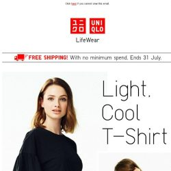 [UNIQLO Singapore] Now with offers starting at $4.90