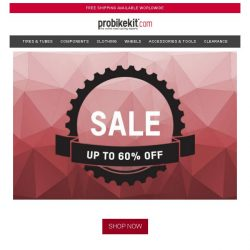 [probikekit] SALE now on | Up to 60% off...