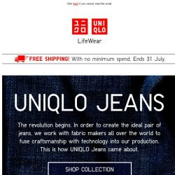 [UNIQLO Singapore] Never go wrong with UTs & Jeans.