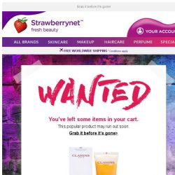 [StrawberryNet] Your WANTED item is still in your cart