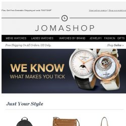 [Jomashop] We thought you'd like