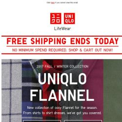 [UNIQLO Singapore] The question is - Plaid or Solid?
