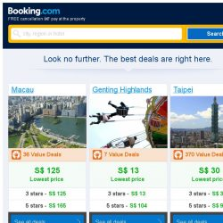 [Booking.com] Deals in Macau from S$ 125
