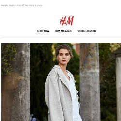 [H&M] Let's toast for coats!