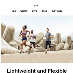 [Nike] Nike Free RN: Light and Flexible
