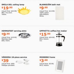 IKEA: Special Offers for IKEA FAMILY Members with Up to $200 OFF!