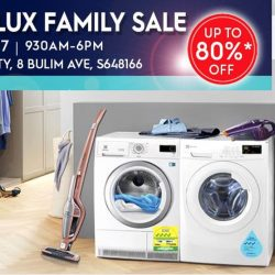 Electrolux: Annual Family Sale 2017 with Up to 80% OFF Washers, Refrigerators, Vacuum cleaners & Many Other Home Appliances!