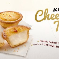 KFC: Cheese Tarts Are Back! Enjoy 1 for $1.90 or Buy 5 & 1 FREE!