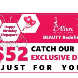 [Allure Beauty Saloon] August $52 Exclusive Deals!